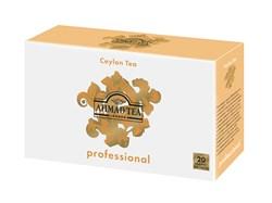 """Чай """"Ahmad Tea Professional"""", Цейлонский OP, чёрный, листовой, в пакетах для чайников, 20х5г - фото 5705"""
