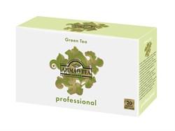 """Чай """"Ahmad Tea Professional"""", Зелёный чай, листовой, в пакетах для чайников, 20х5г - фото 5706"""