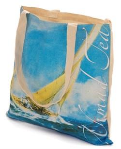 """Пляжная сумка с логотипом """"Ahmad Tea"""" - фото 5901"""