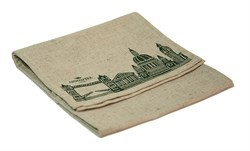 "Полотенце кухонное с логотипом ""Ahmad Tea"" (в комплекте 2 полотенца) - фото 5904"