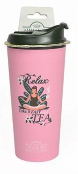 "Термокружка ""Ahmad Tea"", 350 мл, цвет розовый - фото 5947"