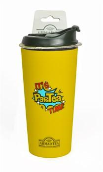 """Термокружка """"Ahmad Tea"""", 350 мл, цвет жёлтый - фото 5952"""