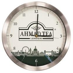"""Настенные часы с логотипом """"Ahmad Tea"""" - фото 5965"""
