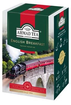 """Чай """"Ahmad Tea"""" Английский завтрак, чёрный, листовой, 200г - фото 6273"""