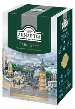 "Чай ""Ahmad Tea"" Эрл Грей, чёрный, листовой, 200г - фото 6275"