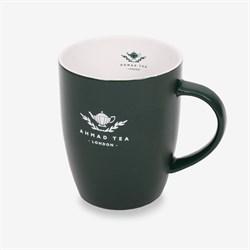 "Зелёная кружка с логотипом ""Ahmad Tea"" - фото 6282"