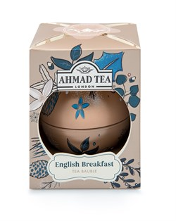 "Чай ""Ahmad Tea"", Чай Английский завтрак, ""Золотые Сумерки"", ""Новогодний шар"", 30г - фото 6348"