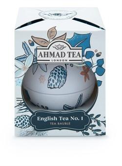 "Чай ""Ahmad Tea"", Чай Английский №1, ""Снежные Сумерки"", ""Новогодний шар"", 30г - фото 6367"