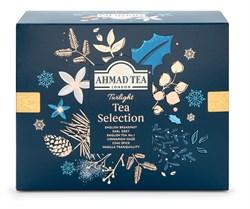"""Чай """"Ahmad Tea"""", Набор """"Таинственные Сумерки"""", пакетики в конвертах, в картонной пачке, 6 вкусов, 60 пакетиков по 2 гр - фото 6378"""