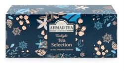 """Чай """"Ahmad Tea"""", Набор """"Таинственные Сумерки"""", пакетики в конвертах, в картонной пачке, 3 вкуса, 30 пакетиков по 2 гр - фото 6385"""