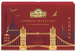"""Чайный набор """"Ahmad Tea"""" """"Лондон Селекшн"""", пакетики в индивидуальных конвертах, 8 вкусов по 5 пакетиков - фото 6423"""