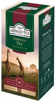 """Чай """"Ahmad Tea"""", Чай Кения, чёрный, в пакетиках с ярлычками в конвертах, 25х2гр - фото 6429"""