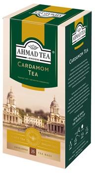 "Чай ""Ahmad Tea"", Кардамон, чёрный, в пакетиках с ярлычками в конвертах, 25х2гр - фото 6432"