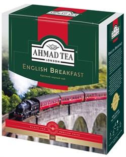 """Чай """"Ahmad Tea"""" Английский завтрак, чёрный, в пакетиках с ярлычками в конвертах из фольги,100х2г - фото 6590"""