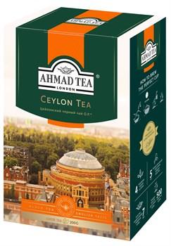 """Чай """"Ahmad Tea"""" Цейлонский чай OP, чёрный, листовой, 200г - фото 6592"""