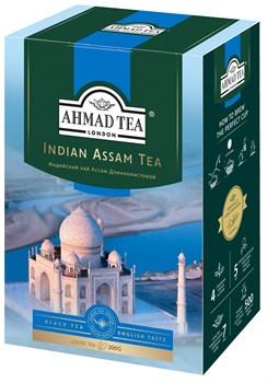 """Чай """"Ahmad Tea"""" Индийский Ассам, чёрный, длиннолистовой, 200г - фото 6593"""