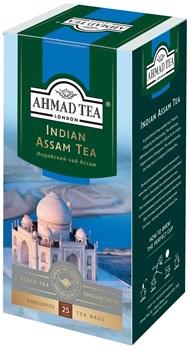 "Чай ""Ahmad Tea"", Чай Ассам, чёрный, в пакетиках с ярлычками в конвертах, 25х2гр - фото 6600"