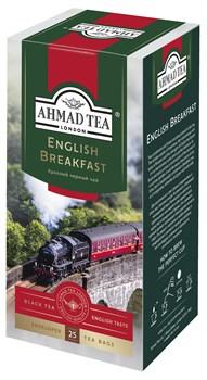 """Чай """"Ahmad Tea"""" Английский завтрак, в пакетиках с ярлычками в конвертах из фольги, 25х2г - фото 6601"""