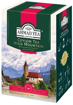 """Чай """"Ahmad Tea"""" F.B.O.P.F. Цейлонский чай, высокогорный, чёрный, листовой, 200г - фото 6609"""