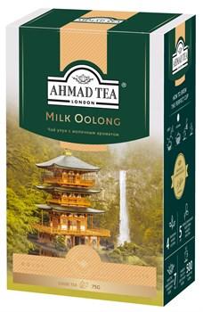 """Чай """"Ahmad Tea"""", Милк Улун, со вкусом и ароматом молока, оолонг, листовой, в картонной коробке, 75г - фото 6615"""
