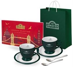 """Подарочный набор чая и посуды от """"Ahmad Tea"""" """"Классические вкусы"""" - фото 6629"""