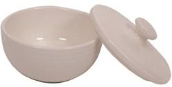 """Сахарница """"Ahmad Tea"""" с крышкой, белая, керамическая, 130 мл - фото 6751"""