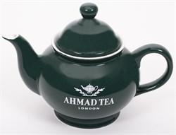 """Чайник заварочный """"Ahmad Tea"""", зелёный, керамический, 400 мл - фото 6753"""