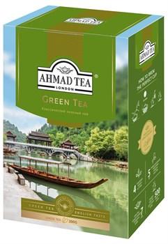 "Чай ""Ahmad Tea"" Зелёный чай, листовой, 200г - фото 6906"