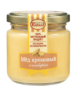 """Мёд кремовый с имбирём """"Aroma di Estasi"""", 220гр - фото 6980"""