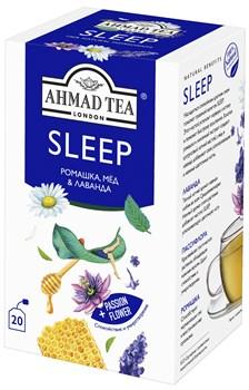 """Чайный напиток """"Ahmad Tea"""", """"Sleep"""", пакетики с ярлычками в индивидуальных конвертах, 20х1,5г - фото 6987"""