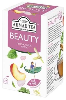 """Чайный напиток """"Ahmad Tea"""", """"Beauty"""", пакетики с ярлычками в индивидуальных конвертах, 20х1,5г - фото 6993"""