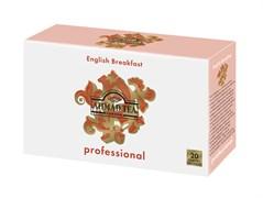 """""""Professional"""", Английский завтрак, черный, листовой, пакет.для чайников, 20х5г"""