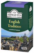 """Чай """"Ahmad Tea"""" Английская традиция, чёрный, листовой, 100г"""