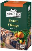 Фестив Оранж, черный с ароматом апельсина, картон.коробка, 100г