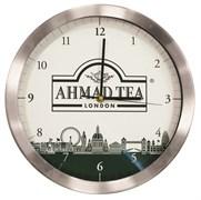 """Настенные часы с логотипом """"Ahmad Tea"""""""