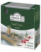 """Чай """"Ahmad Tea"""" Эрл Грей, чёрный, в пакетиках в конвертах из фольги, 100х2г + ложка в подарок"""