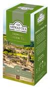 """Чай """"Ahmad Tea"""" Зелёный чай с жасмином, в пакетиках с ярлычками в конвертах из фольги, 25х2г"""