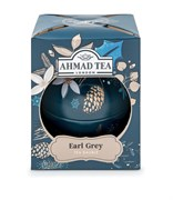 "Чай ""Ahmad Tea"", Чай Эрл Грей, ""Синие Сумерки"", ""Новогодний шар"", 30г"