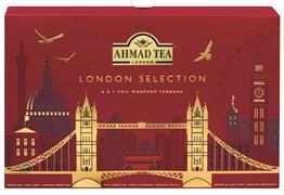 """Чайный набор """"Ahmad Tea"""" """"Лондон Селекшн"""", пакетики в индивидуальных конвертах, 8 вкусов по 5 пакетиков"""