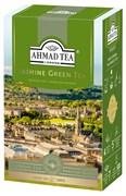 """Чай """"Ahmad Tea"""" Зелёный чай с жасмином, листовой, 100г"""
