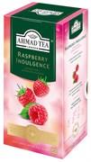 """Чай """"Ahmad Tea"""", Малиновое лакомство, чёрный, в пакетиках с ярлычками в конвертах, 25х1,5гр"""