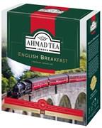 """Чай """"Ahmad Tea"""" Английский завтрак, чёрный, в пакетиках с ярлычками в конвертах из фольги,100х2г"""