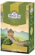 """Чай """"Ahmad Tea"""", Чай Ганпаудер, зелёный, листовой, в картонной коробке, 100г"""