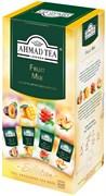"""Чайное ассорти """"Ahmad Tea"""" Фруктовый Микс, пакетики в индивидуальных конвертах, 4 вкуса (24 пакетика)"""