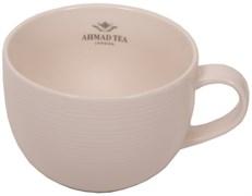 """Кружка """"Ahmad Tea"""", белая, керамическая, 400 мл"""