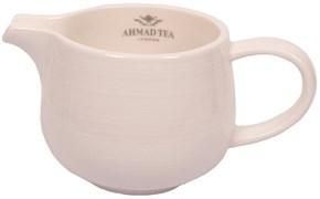 """Сливочник """"Ahmad Tea"""", белый, керамический, 100 мл"""