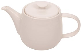 """Чайник заварочный """"Ahmad Tea"""" с фильтром, белый, керамический, 700 мл"""