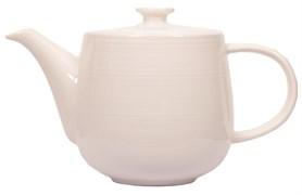 """Чайник заварочный """"Ahmad Tea"""" с фильтром, белый, керамический, 500 мл"""