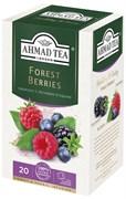 """Травяной чай """"Ahmad Tea"""" с лесными ягодами """"Форест берриз"""", в пакетиках в конвертах из фольги 20х2г"""
