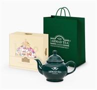 """Подарочный набор чая и посуды от """"Ahmad Tea"""" """"Afternoon Tea Collection"""""""